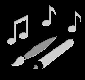 Kunst, Gestaltung und Musik